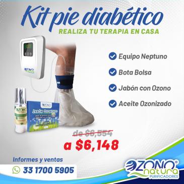 Apoyo en tratamiento del pie diabético
