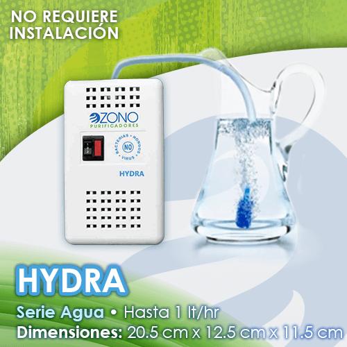 Purificador de agua base ozono