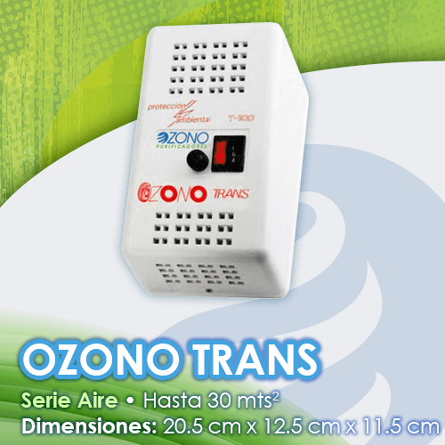 Purificador de ozono de aire