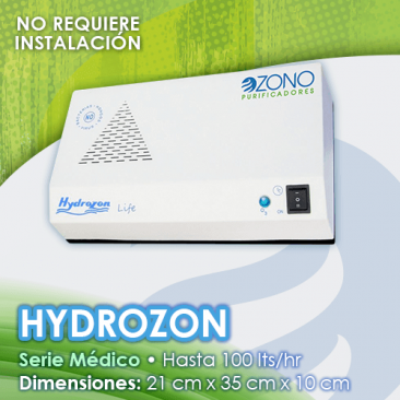 Purificador de ozono serie Médico