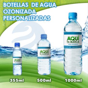 Botellas de Agua Ozonizada